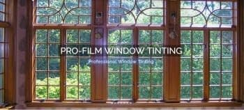 Pro-Film Window Tinting in CT Mobile