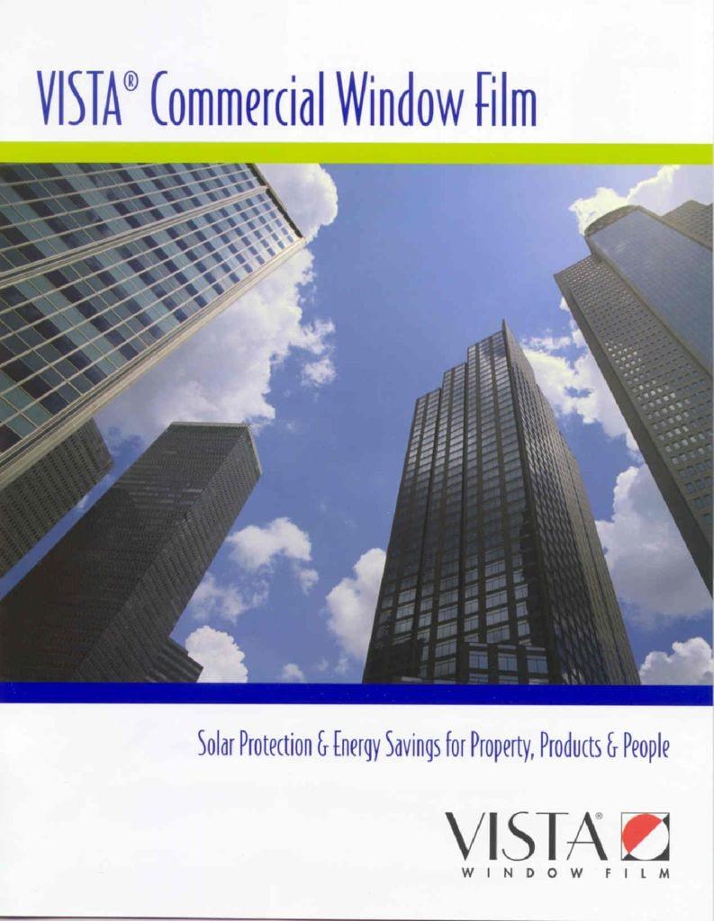 thumbnail of Commercial Window Film – Vista Brochure
